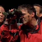 Blackout Theater Vier Männer im Nebel